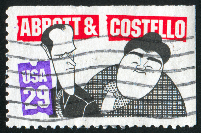 Abbott & Costello Stamp
